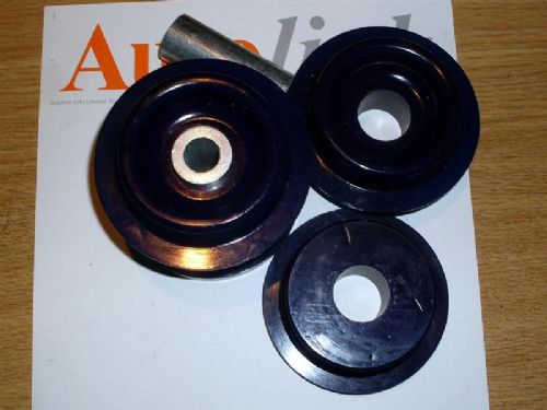 Bush set, polyurethane, differential mounts, Mazda MX-5